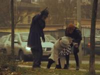 Dziadek z atakiem serca - uliczny wkręt