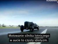 Top Gear Rojs rojs z silnikiem Messerschmitta Germany vs England
