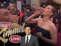 Dziennikarz pije tequile z gwiazdami na rozdaniu Oscarów 2014