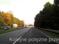 Blokowanie Lewego pasa cz.2 17.09.2014 Bielsko-Biała