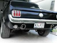 Mustang 66 i prawdziwy dźwięk V8