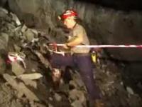 Strzelanie w kopalni
