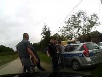 Publiczny lincz w Koprzywnicy na oczach policjantów