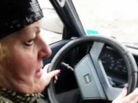 Pani Barbara - Ostra jazda + Palenie Gumy