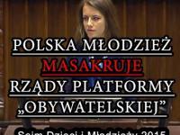 Młodzież masakruje rządy Platformy Obywatelskiej! Sejm Dzieci i Młodzieży