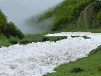 Śnieżne osuwisko w Austrii