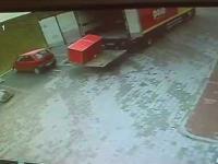Wypadek z lodówką