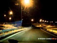Spacer po drodze ekspresowej