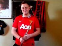 Hymn Manchesteru United wykonany na flecie
