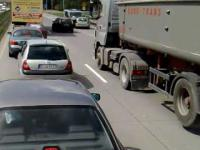 Pijany kierowca na autostradzie A4