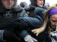 Jak ruska policja tłumi zamieszki