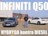 Infiniti Q50 - hybryda kontra diesel