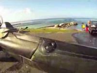 Łódź podwodna zbudowana z kajaka