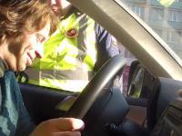 Chomik trolluje policjanta