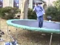 Do mnie, moja desko! - trampolina