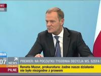 Monika Olejnik masakruje Donalda Tuska