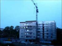 burza porywa styropian z budowy w olsztynie