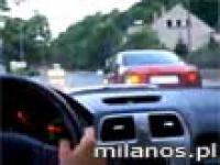 Wariacki rajd - Pozbawiony prawa jazdy młodzieniec doskonale się bawił, narażając ludzkie życie