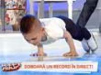 Giuliano Stroe - najsilniejsze dziecko na świecie
