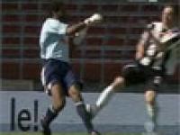 Brutalny Faul w austriackiej lidze [+18]