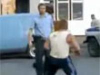 Policjanci kontra odważni przestępcy