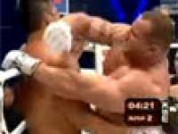 Mariusz Pudzianowski zwycięża z Yusuke po bardzo ciężkiej walce