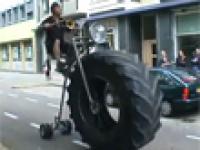 Monster Trucka rower