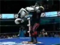 Najlepszy wrestlingowy nokaut
