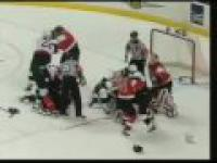 Niesamowita hokejowa walka
