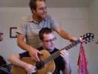 Fajna gra na 4 ręce na gitarze