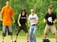 Bolesna zabawa z frisbee