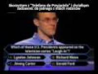 Milionerzy - Pytanie za Milion (pierwszy w historii)