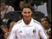 Kibice AC Milanu powitali Zlata jak króla.
