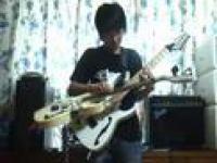 Melodia Tetris w wersji gitarowej