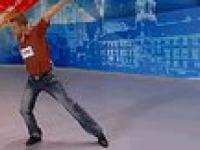 Mam talent 3 - odcinek 1 - Dawid - tańczący kucharz