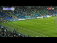 Przepiękny gol w meczu Turcja-Kazachstan