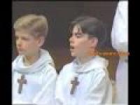 Chłopięcy chór w