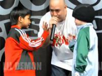 Walka breakdance 7-letnich dzieci