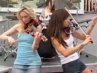 Toxicity na skrzypcach w wykonaniu niezwykłego trio