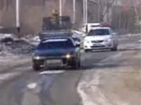 Drift z policją na ogonie
