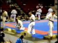 Podwójna wpadka na zawodach karate