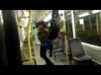 Smieszny wypatek w tramwaju