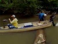 Wpadki wędkarskie podczas nagrywaniu filmu dla wędkarzy