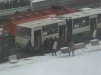 Rosyjska komunikacja miejska w czasie mrozu