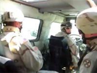 Granat w Humvee