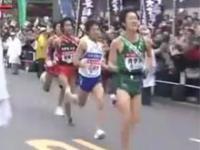 Zakręcony japoński maratończyk