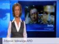 Polski kibic w niemieckiej TV