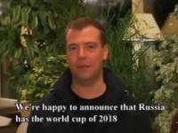 Prezydent Rosji zapowiada Mistrzostwa Świata w 2018 roku