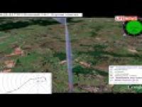 Najnowsza animowana symulacja katastrofy pod Smoleńskiem.