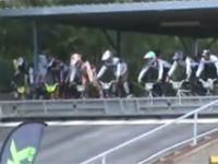 Imponujący start w wyścigu rowerowym
